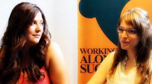 Cristina Limón y Marta Correal, coordinadoras de Grupo Tangram