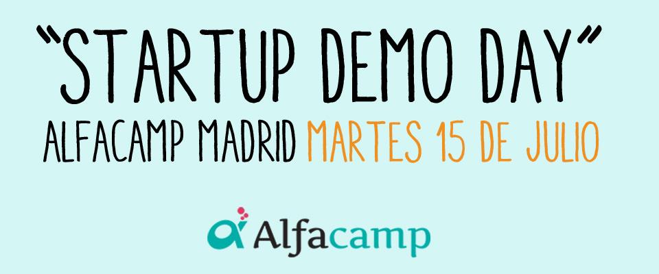Startup Demo Day Alfacamp en Madrid