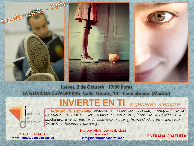 cartel invierte en ti   2 Octubre  La Guarida Coworking Fuenlabrada (1)
