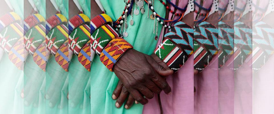 Pulseras MASAI Contra la Mutilación Genital Femenina (MGF) en La Guarida Creativa