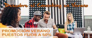 Descubre el Coworking en Verano