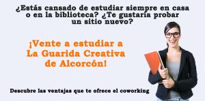 ¿Tienes que estudiar en verano? Vente a La Guarida Creativa de Alcorcón
