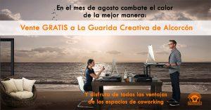 Vente GRATIS este verano a La Guarida Creativa